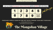 Become A Member Of  Club Mongo - Mongolian Village West